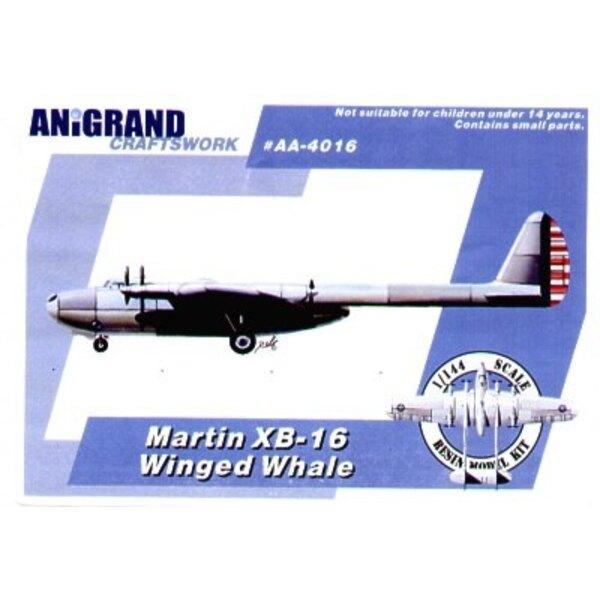 Martin XB-16 Winged whale dream design of 1930s. Also includes BONUS kits of the Grumman J2F-5 Duck Lockheed XP-49 Grumman XP-50