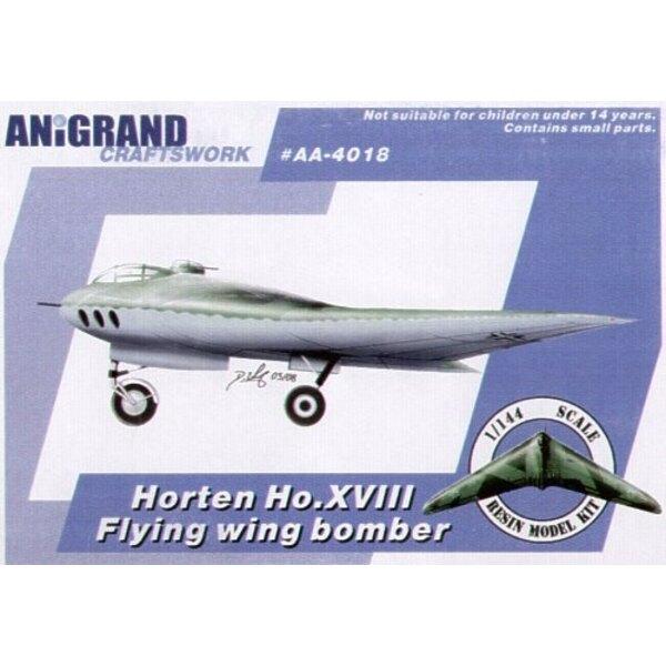 Horten Ho XVIII. Also includes BONUS kits of the Junkers EF.130 Blohm und Voss Bv P.217 Lippisch Li P.04-106 and Messerschmitt M
