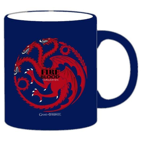 Game of Thrones Mug Targaryen blue