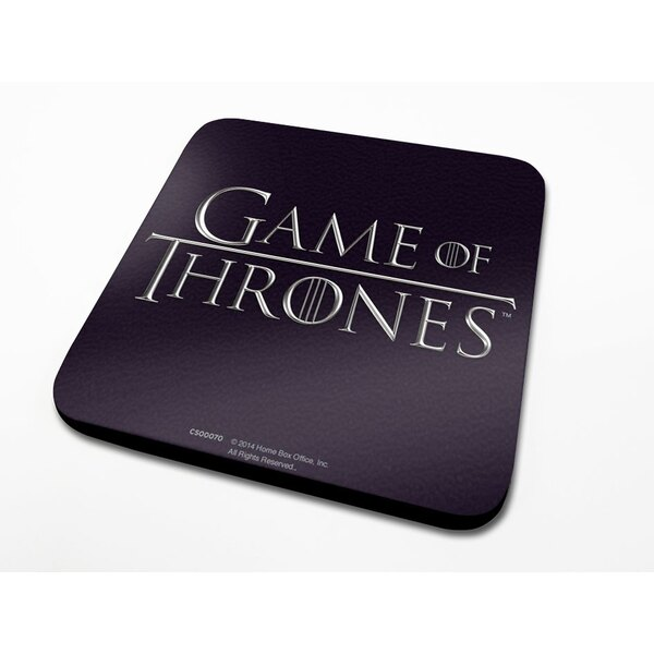 Game of Thrones Coaster Logo 6-Pack