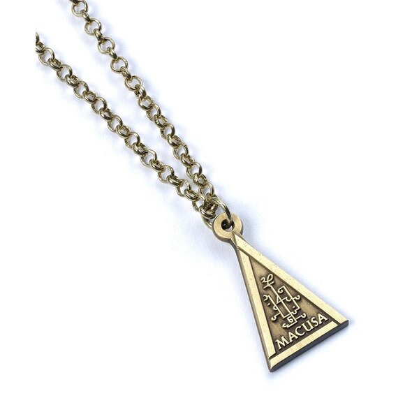 Fantastic Beasts Pendant & Necklace Macusa (antique brass plated)