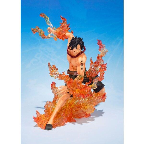 One Piece FiguartsZERO PVC Statue Portgas D. Ace Brother's Bond 16 cm