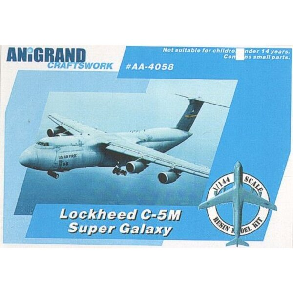 Lockheed C-5M Super Galaxy. Includes BONUS kits of the Fairchild T-46 Eaglet Cessna O-2A Skymaster & Boeing YUH-61. In 1963 the