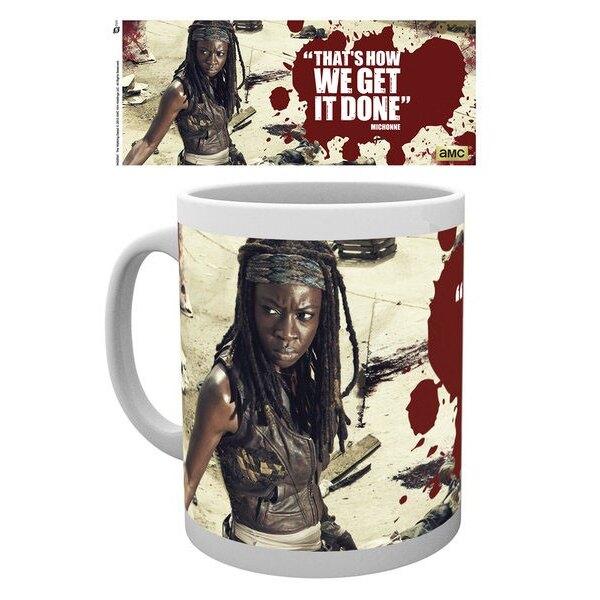 Walking Dead Mug Michonne