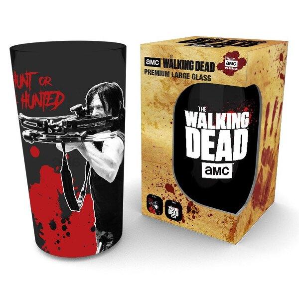 Walking Dead Premium Pint Glass Daryl Black