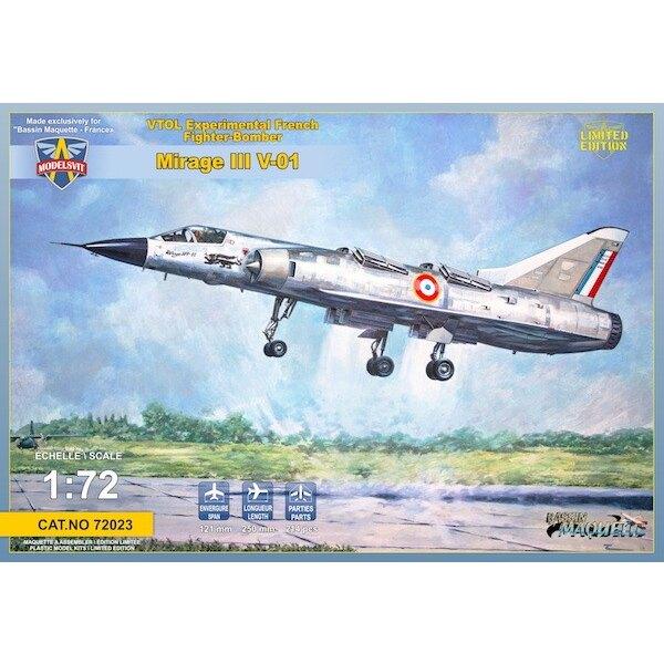 Dassault Mirage III V-01 French VTOL