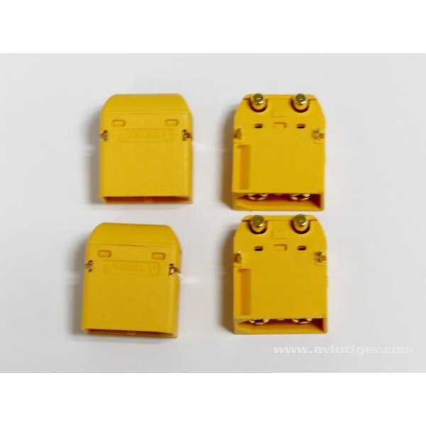 CONNECTOR XT60PW MALE S4