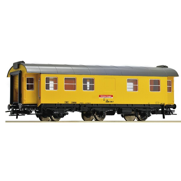 Living and sleeping car for construction trains, DB AG
