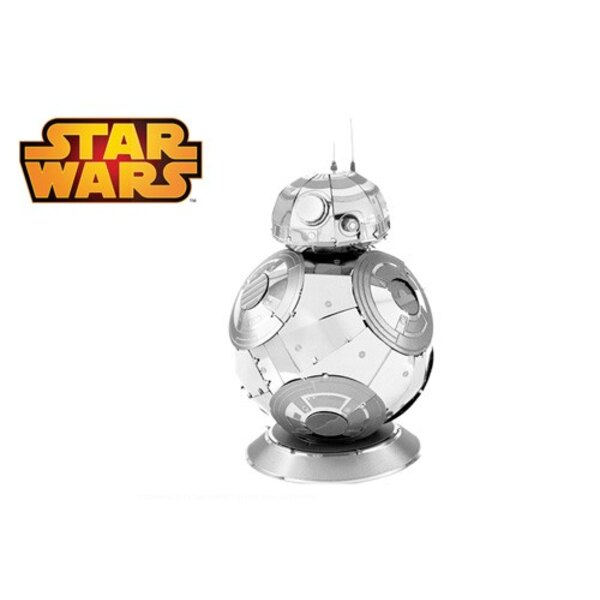 MetalEarth: STAR WARS (EP7) BB8, 3D metal model with 2 sheets, on card 12x17cm, 14+