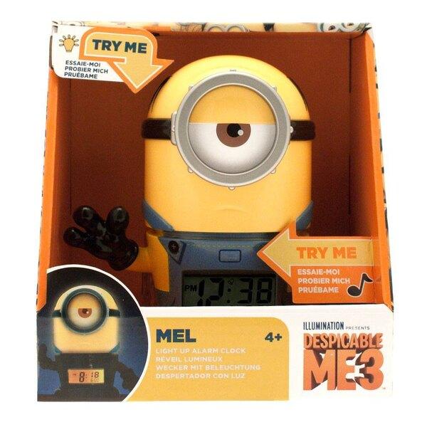 Despicable Me 3 BulbBotz Alarm Clock with Light Minion Mel 14 cm
