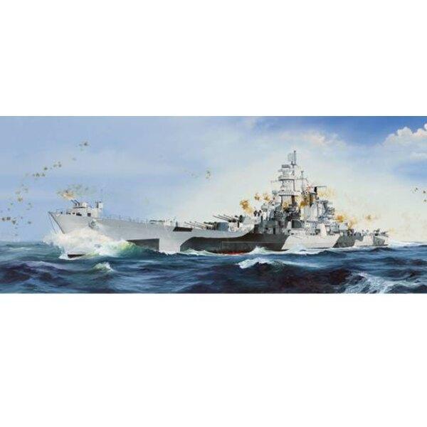 USS Alaska CB-1 1/350