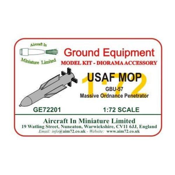 USAF MOP - GBU-57 Massive Ordnance Penetrator
