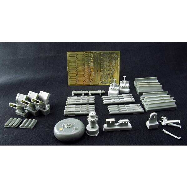 Detailing set for helicopter model Boeing/Hughes AH-64 Apache LongBow