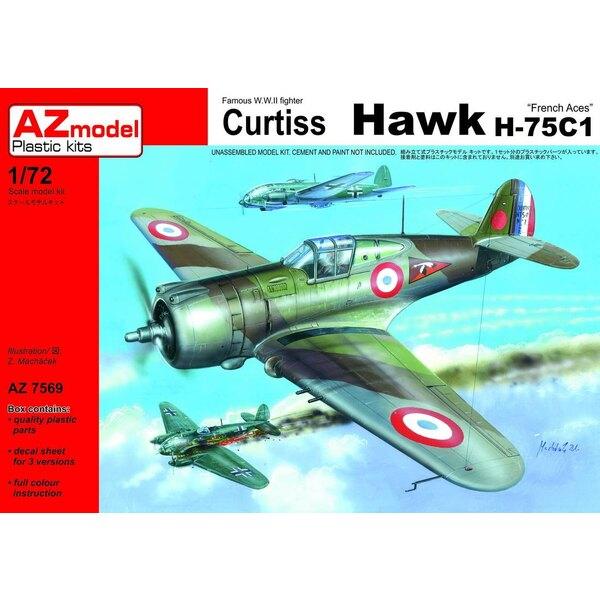 Curtiss Hawk H-75C-1 French Aces