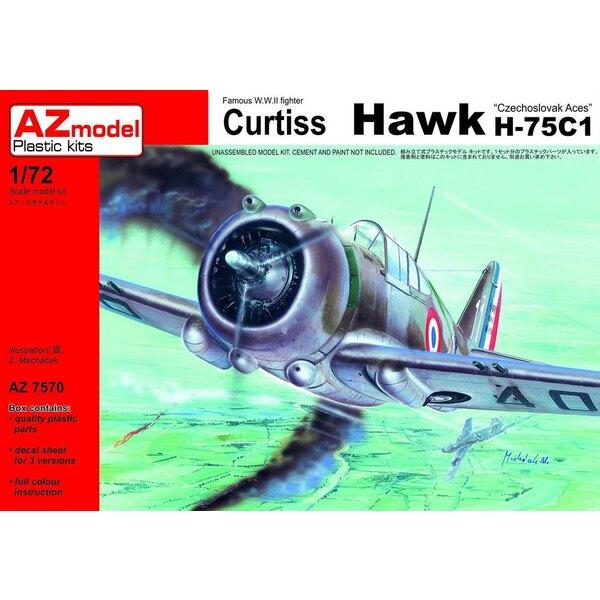 Curtiss Hawk H-75C-1 Czechoslovak Pilots