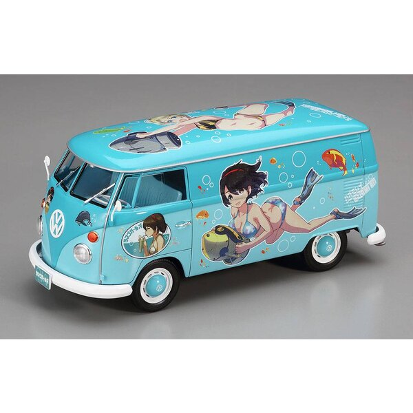 Volkswagen TYPE 2 Delivery Van Egg Girls Summer Paint 2017