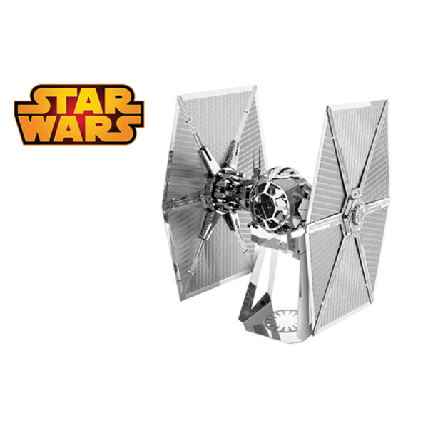 MetalEarth: STAR WARS (EP7) SPECIAL FORCES TIE FIGHTER 5.72x5.08x8.89cm, metal 3D model with 2 sheets, on card 12x17cm, 14+