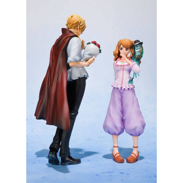 One Piece FiguartsZERO PVC Statue Sanji Whole Cake Island Ver. Tamashii Web Exclusive 17 cm