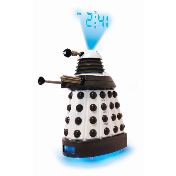 Doctor Who Alarm Clock with Projector Dalek