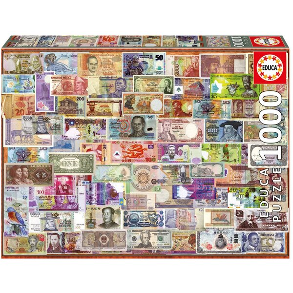 Puzzle Tickets from all over the world