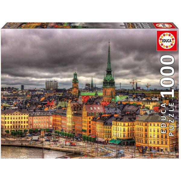 Puzzle View of Stockholm, Sweden