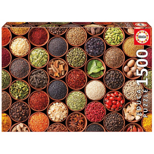 Puzzle spices and condiments