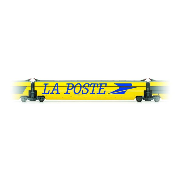 Complementary car TGV La Poste with Large Logo Hirondelle