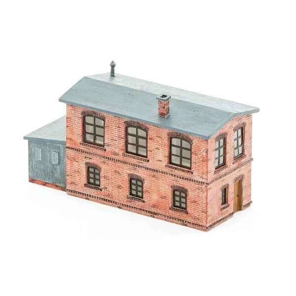 Signal box with small outbuilding