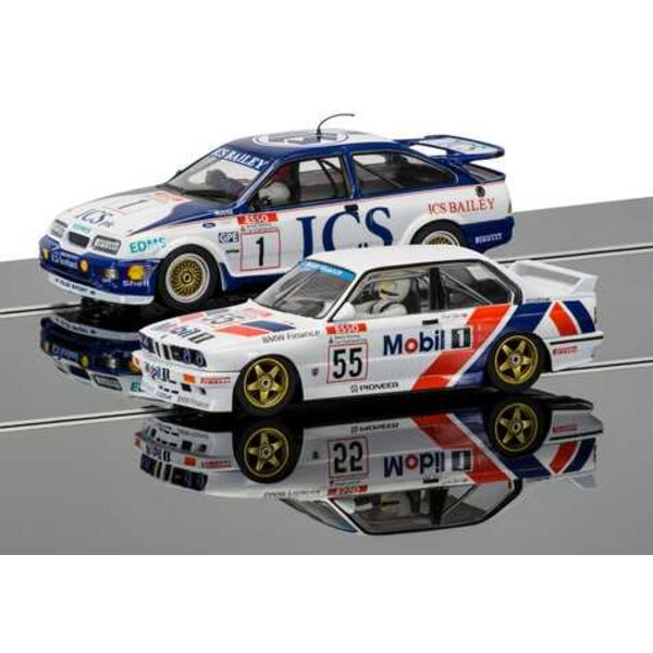 Two Car Touring Car Legends Pack - Ford Sierra RS500 and BMW E30 - Limited Edition