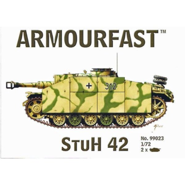 Stuh 42: the pack includes 2 snap together tank kits