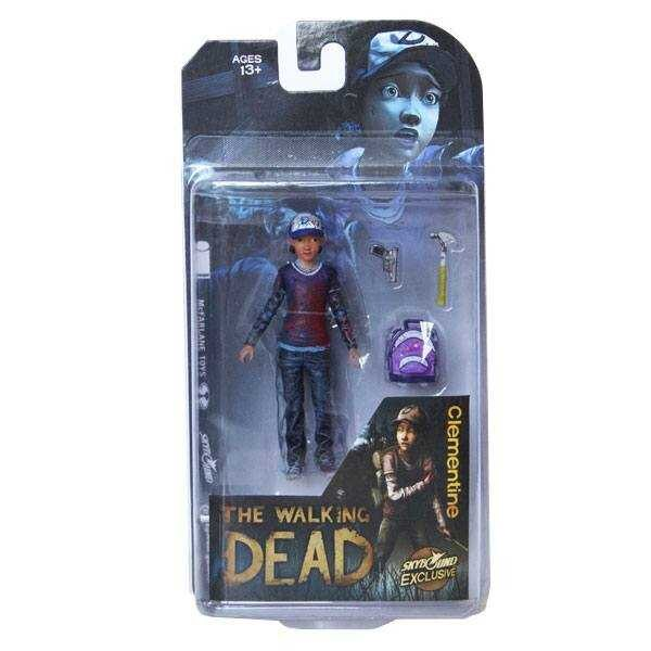 The Walking Dead Action Figure Clementine (Bloody) 9 cm