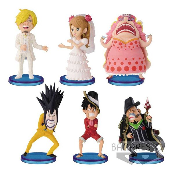 One Piece WCF ChiBi Figures 7 cm Assortment Hall Cake Island Vol. 2 (28)