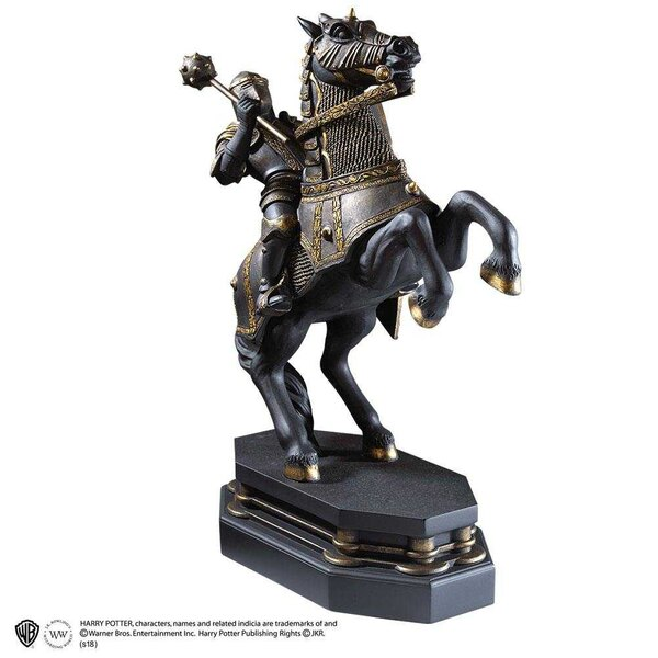 Harry Potter Bookend Wizard's Chess Black Knight 20 cm