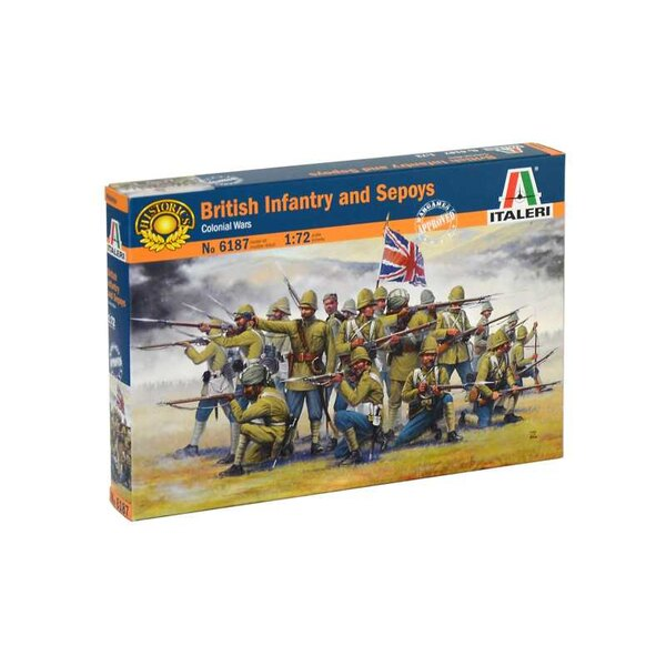 British Infantry and Sepoys (Colonial wars) The kit reproduces in detail the British colonial troops of the second half of the n