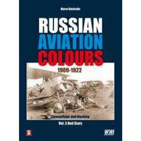 Book Russian Aviation Colours 1909-1922. Volume 3 Red Stars.The third volume of the Russian Aviation Colours series.Books descri
