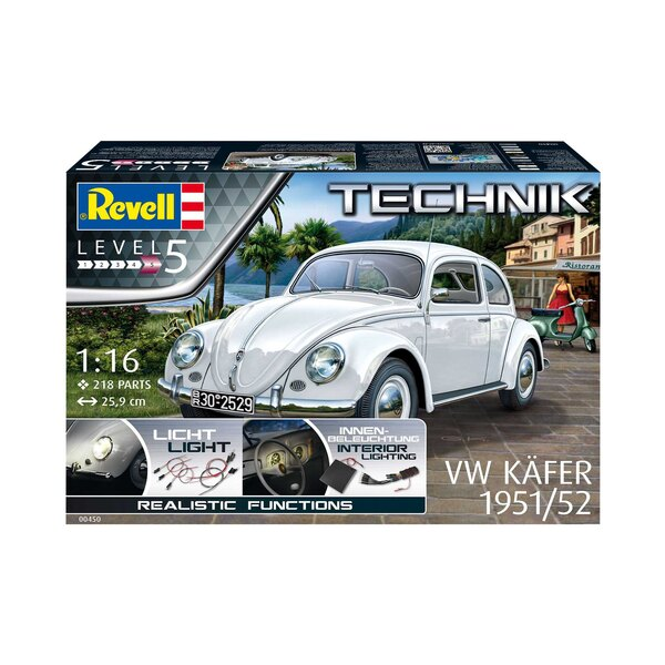 1951/52 VW (VW/Volkswagen) Beetle Technik Series With more than 21 million produced from 1938 to 2003, the original VW Beetle r