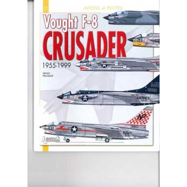 Book Vought F-8 Crusader - Airplanes and Pilots