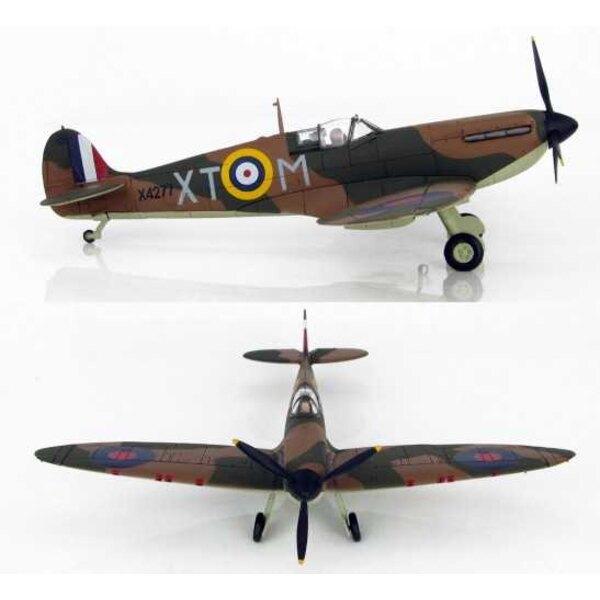 Spitfire Mk.I Flgt / Off Richard Hillary 603 Sqn RAF