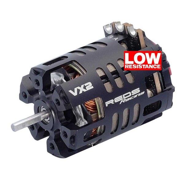 Brushless motor reds vx2 540 13.5t 2 poles sensored stock