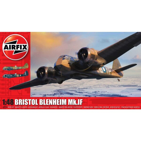 Bristol Blenheim Mk.IF NEW TOOLING<br /><br />Arguably one of the most significant aircraft of the inter war years, the Bristol