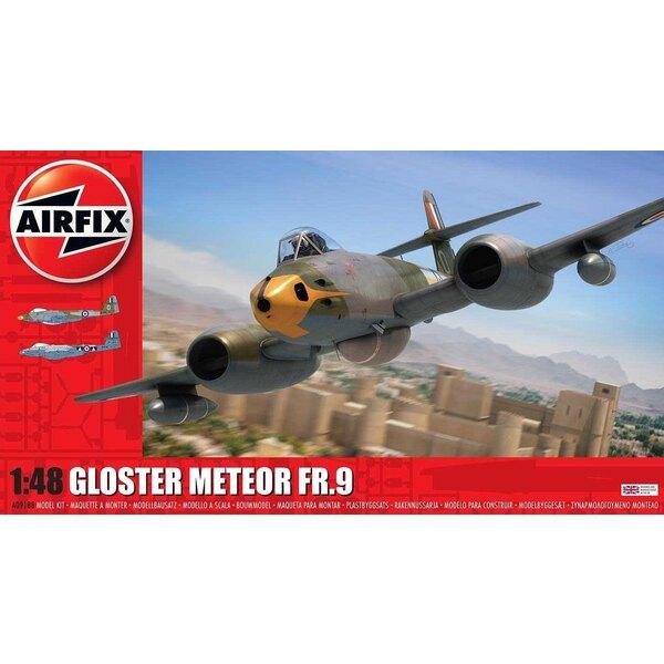 Gloster Meteor FR.9 <br />Scheme 1: WL263 208 Squadron Malta 1957<br />Scheme 2: WB116/G RAF 2 squadron 1956<br /> <br /><br />A