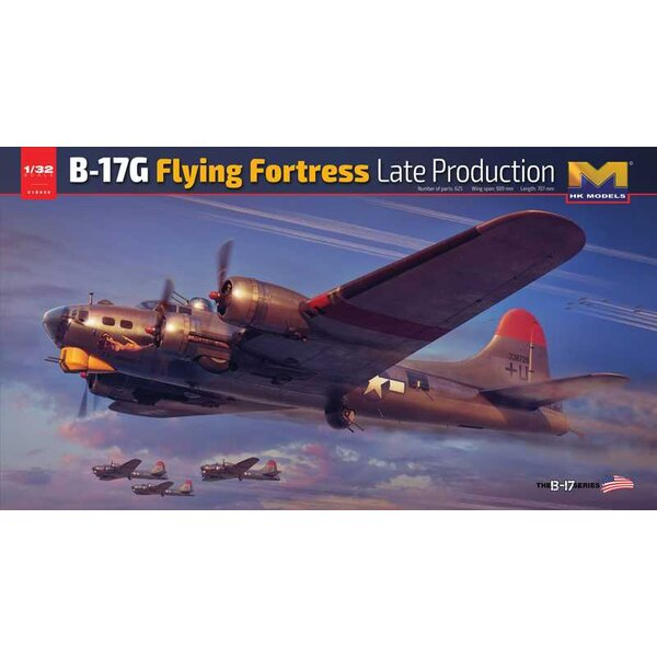 Boeing B-17G Flying Fortress Late Production