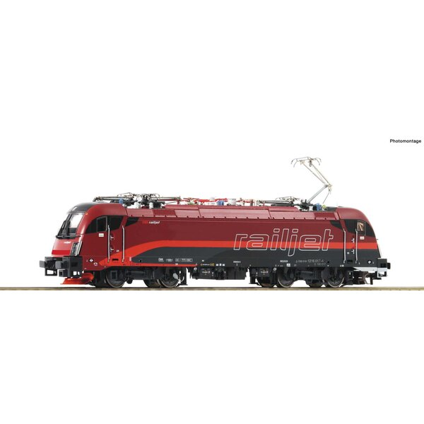 "Electric locomotive 1216 017-4 ""Railjet"", ÖBB"
