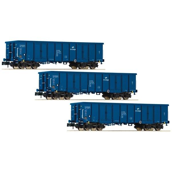 3 piece set gondolas type Eaos, PKP Cargo