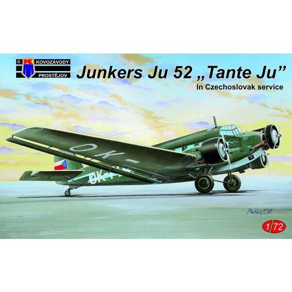 Junkers Ju-52 / 3M Czechoslovak service (ex-Heller)