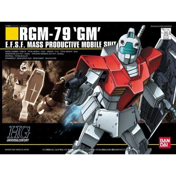 1/144 HGUC RGM-79 GM