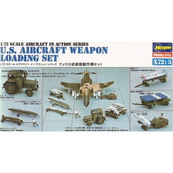 Weapons Loading. Ford Tractor MJ-1Tank Dollyammunition Trailer