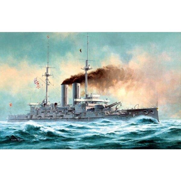 Imperial Japanese Navy/IJN Battleship MIKASA ′The Battle of the Japan Sea′