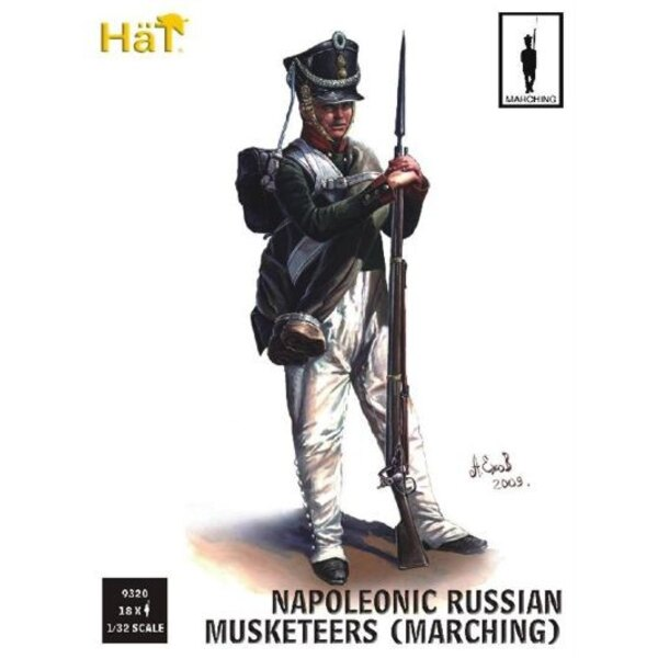 Russian Infantry Marching (Napoleonic Period)