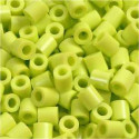 Fuse Beads, size 5x5 mm, hole size 2.5 mm, lime green (9), medium, 1100pcs